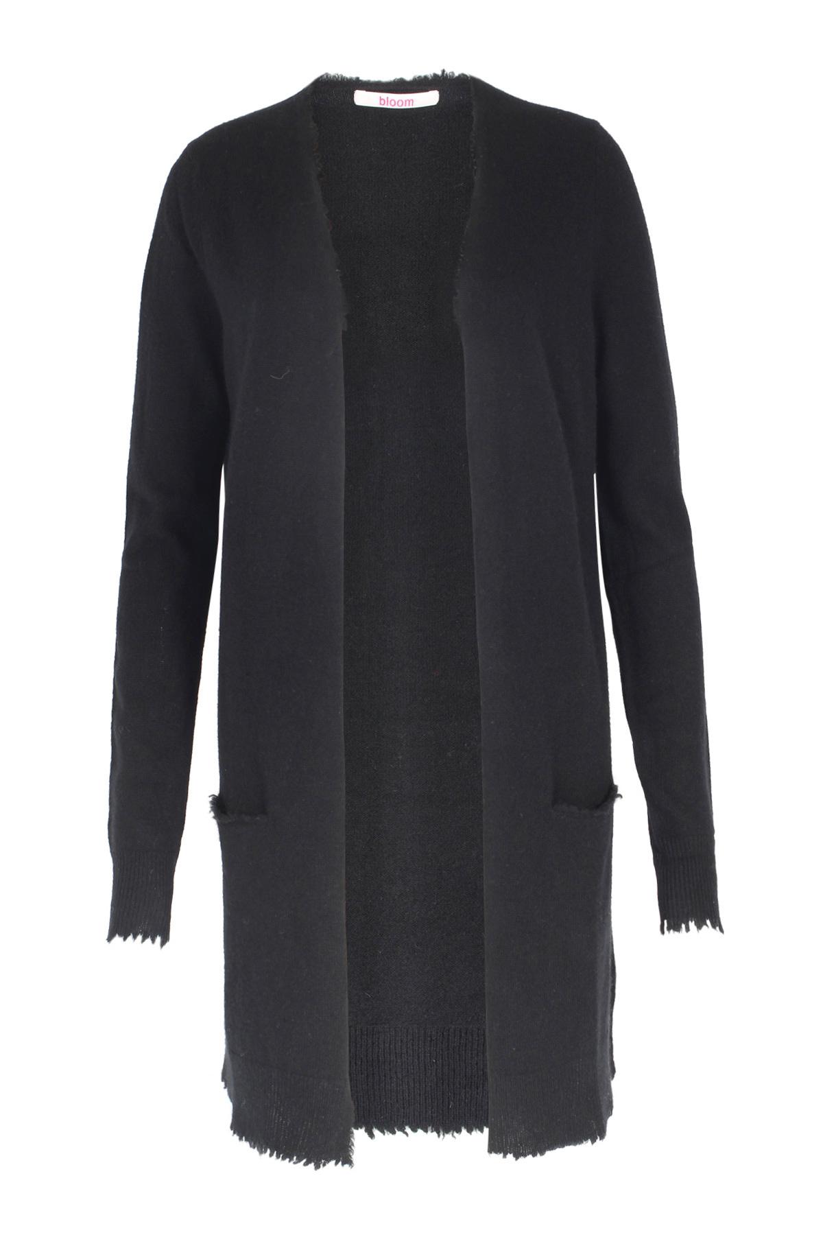 cashmere long cardigan black von bloom bei cashmere. Black Bedroom Furniture Sets. Home Design Ideas
