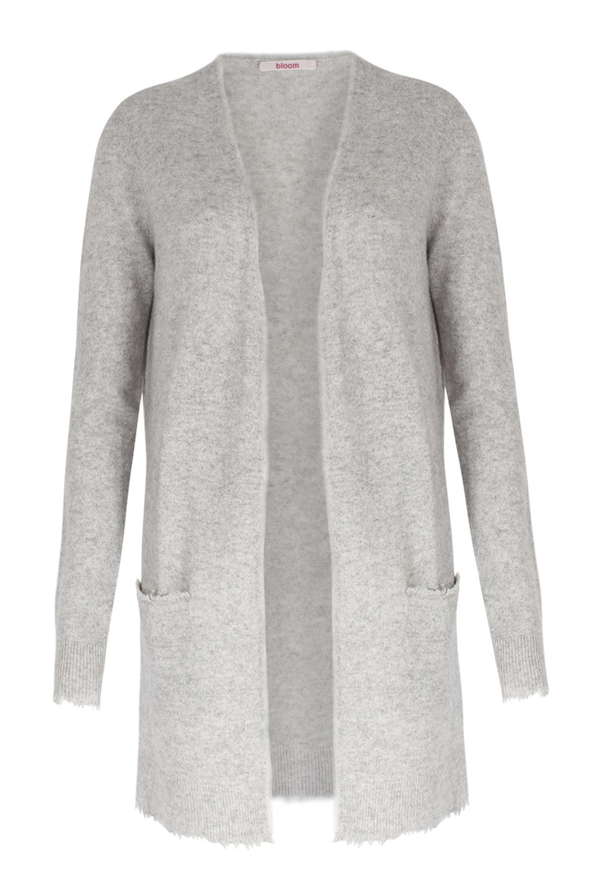 cashmere long cardigan light grey von bloom bei cashmere. Black Bedroom Furniture Sets. Home Design Ideas