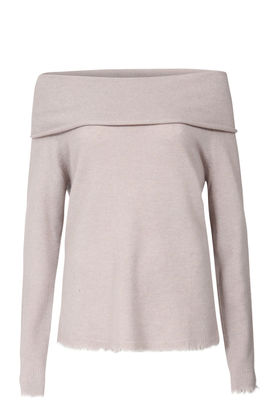 Pullover aus Cashmere Taupe