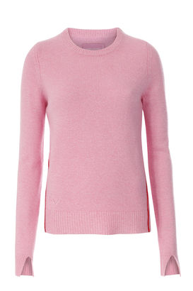 Pullover aus Cashmere Flamant Pink