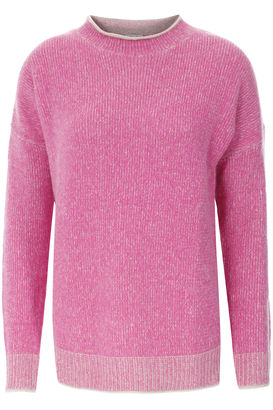 Cashmere-Pullover Pink meliert