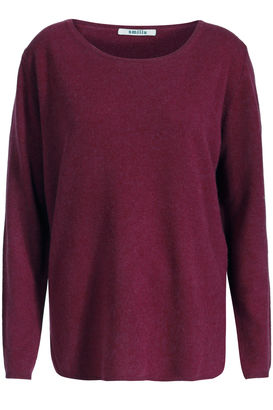 Cashmere Pullover Cranberry