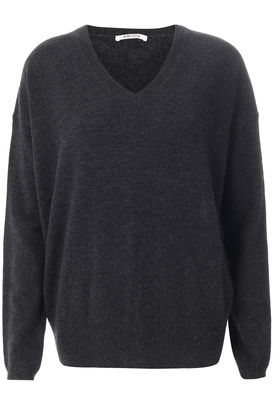 Cashmere Pullover Anthrazit